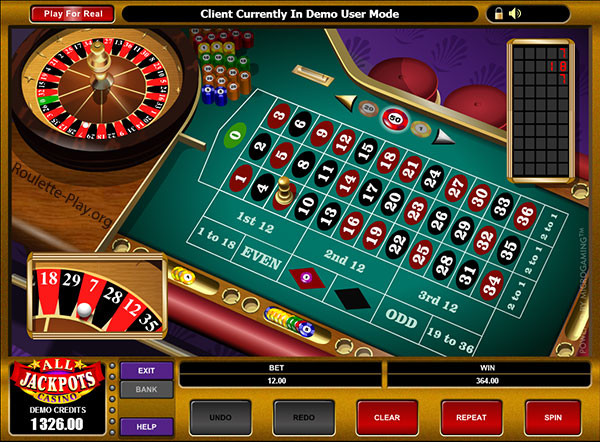 roulette online game free play